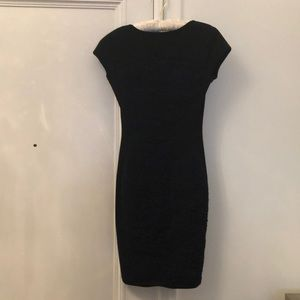 Fendi Black & Navy Bodycon dress